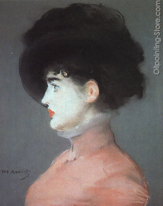 Irma Brunner Woman in a Black Hat