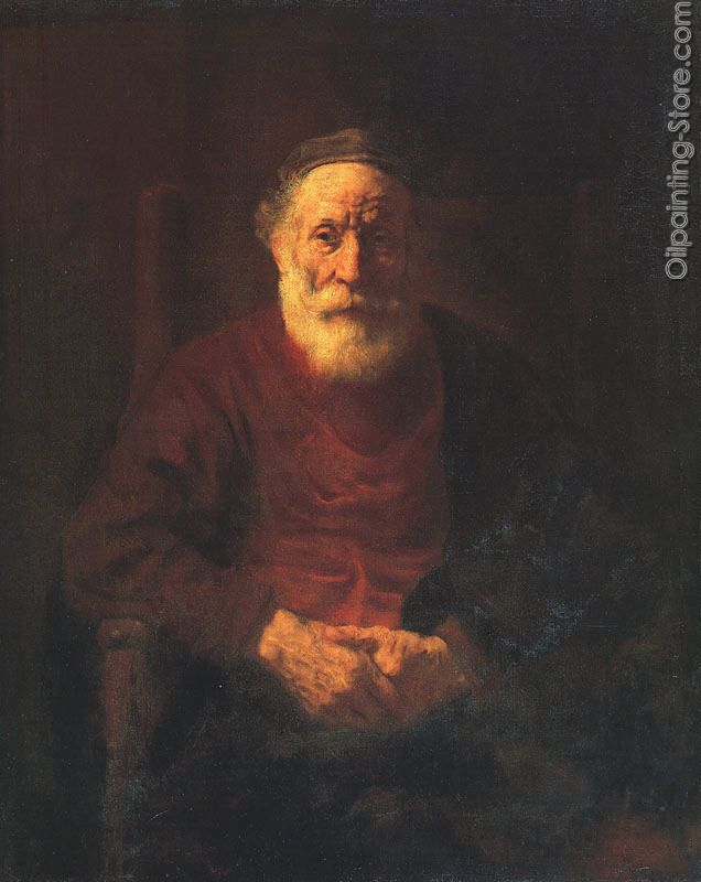 Portrait of an Old Jewish Man