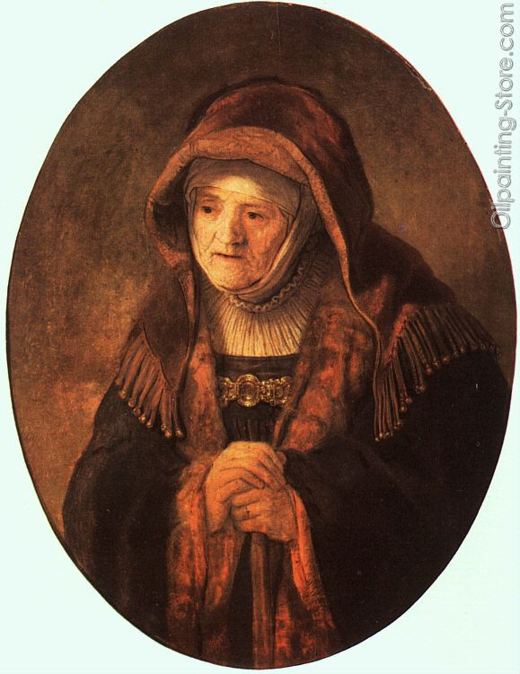 Rembrandt Mother