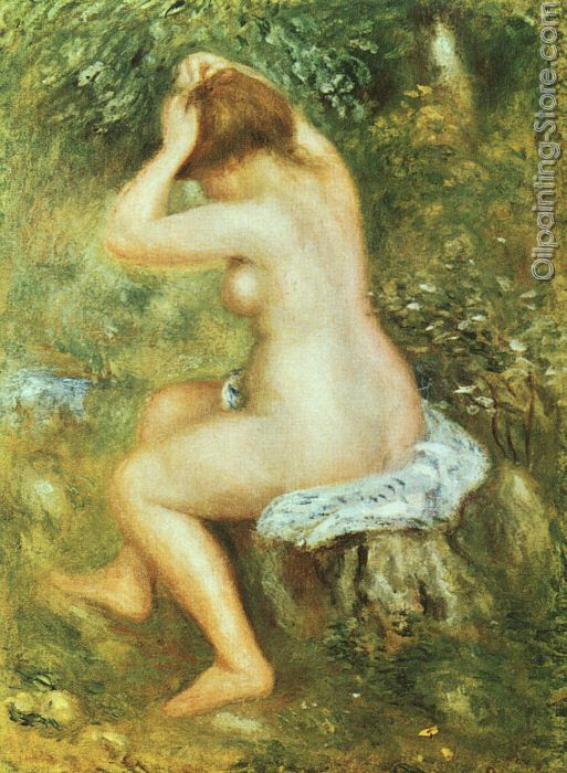Baigneuse se Coiffant  Bather Arranging her Hair
