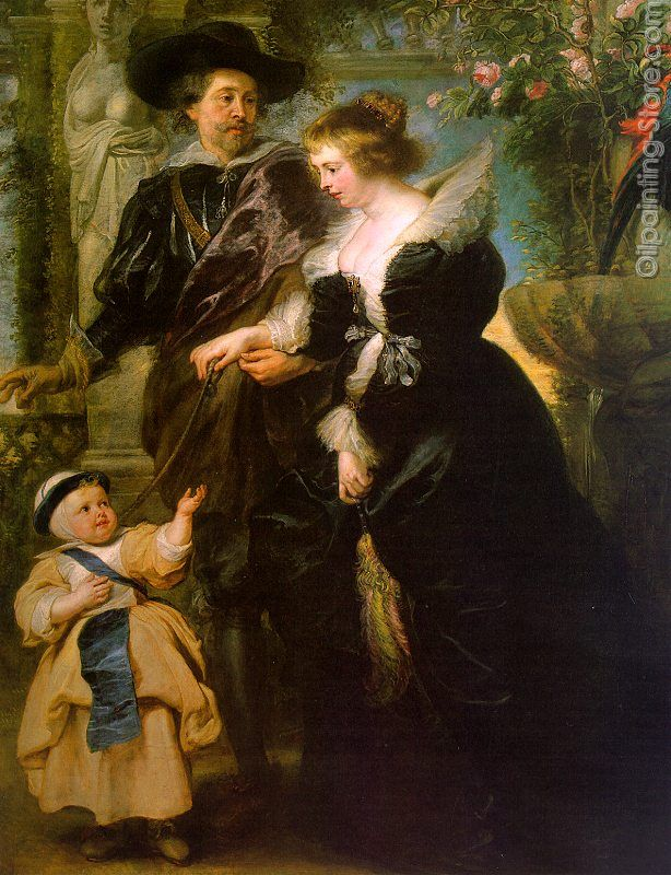 Rubens with his Wife