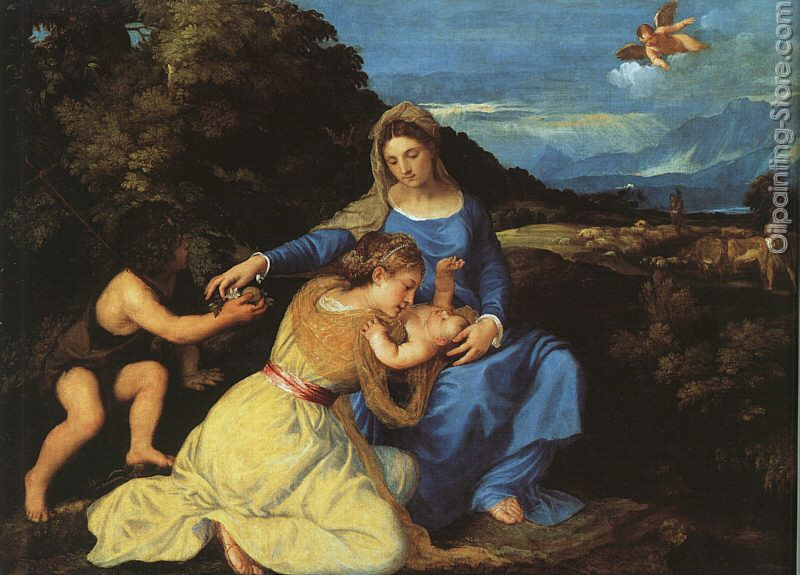 Madonna and Child with the Young St John the Baptist