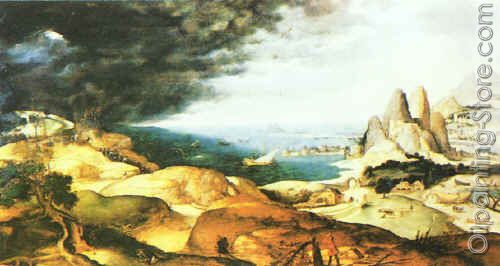 Landscape with the Martyrdom