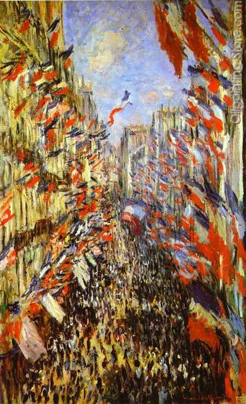 La Rue Montorgueil Festivities of 30th June 1878