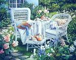 Garden paintings