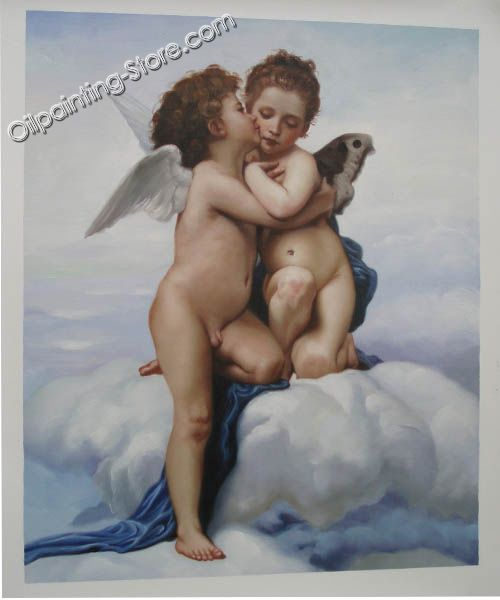 Sample angels painting