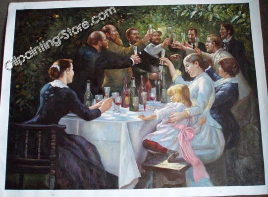 Sample family painting