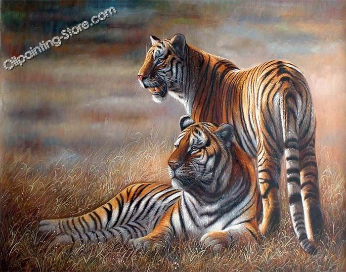 Sample tiger painting