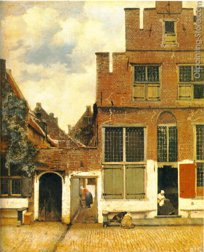The Little Street-A Street in Delft